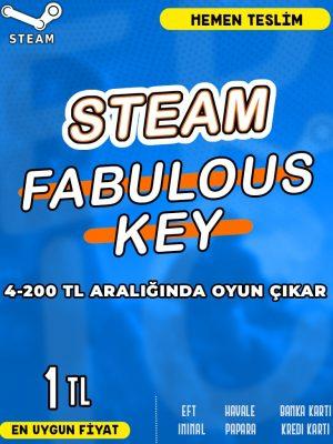 Steam Random (FABULOUS) Key