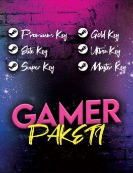 Steam Gamer Key Paketi