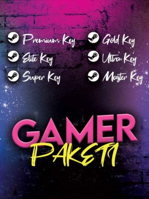 Steam Gamer Key Paketi