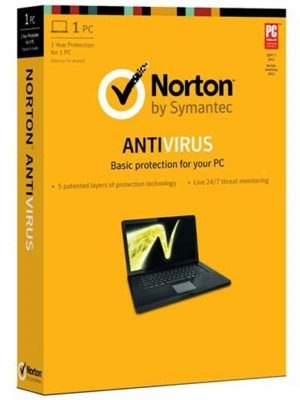 Norton Antivirüs 2020 1 PC 3AY