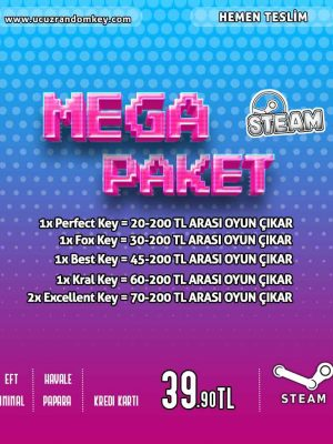 Steam Mega Paket