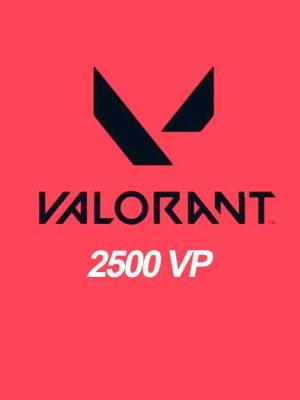 Valorant 2500 VP