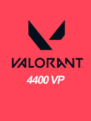 Valorant 4400 Points VP