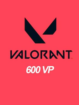 Valorant 600 Points VP