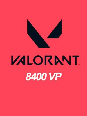 Valorant 8400 Points VP