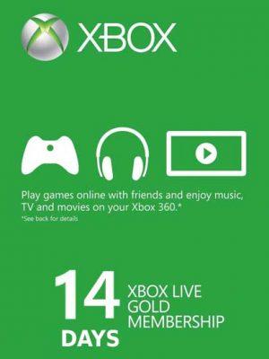 Xbox Live Gold 14 Gün -Trial Xbox Live Key