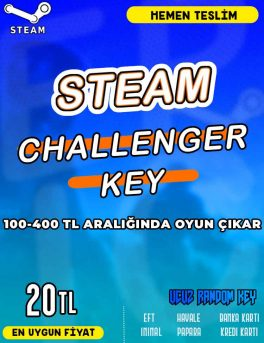 Steam Random (CHALLENGER) Key