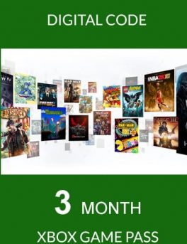Xbox Game Pass PC 3 Aylık Dijital Kod